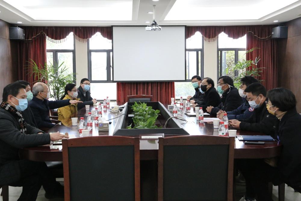 宁波市委常委、统战部部长胡军莅临我司 调研疫情防控和复工复产情况